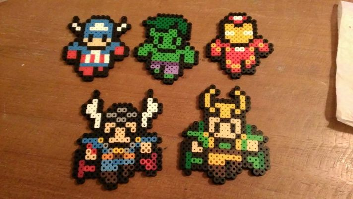 8 bit avengers - CUTE!