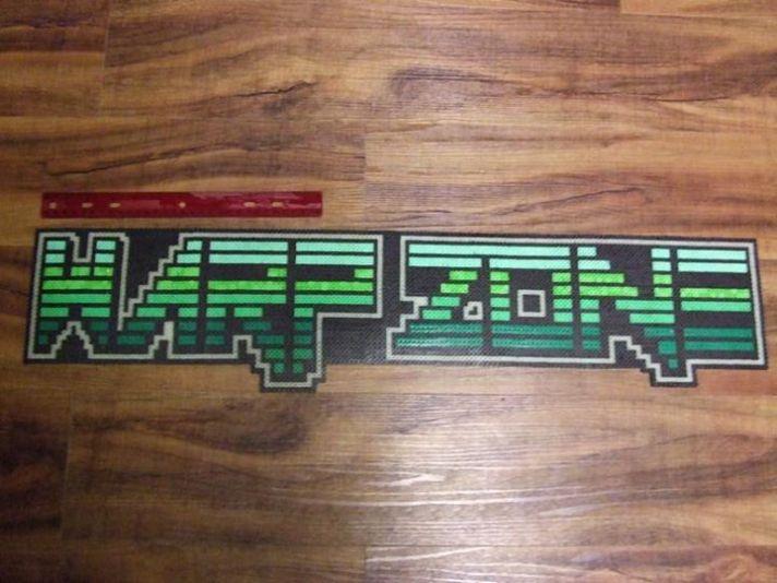 Warp Zone Logo Sprite - LARGE